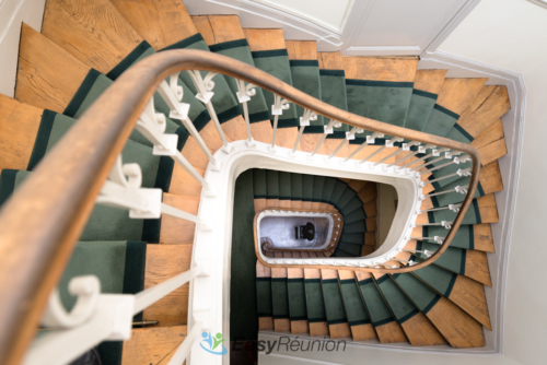 escalier espace bellechasse