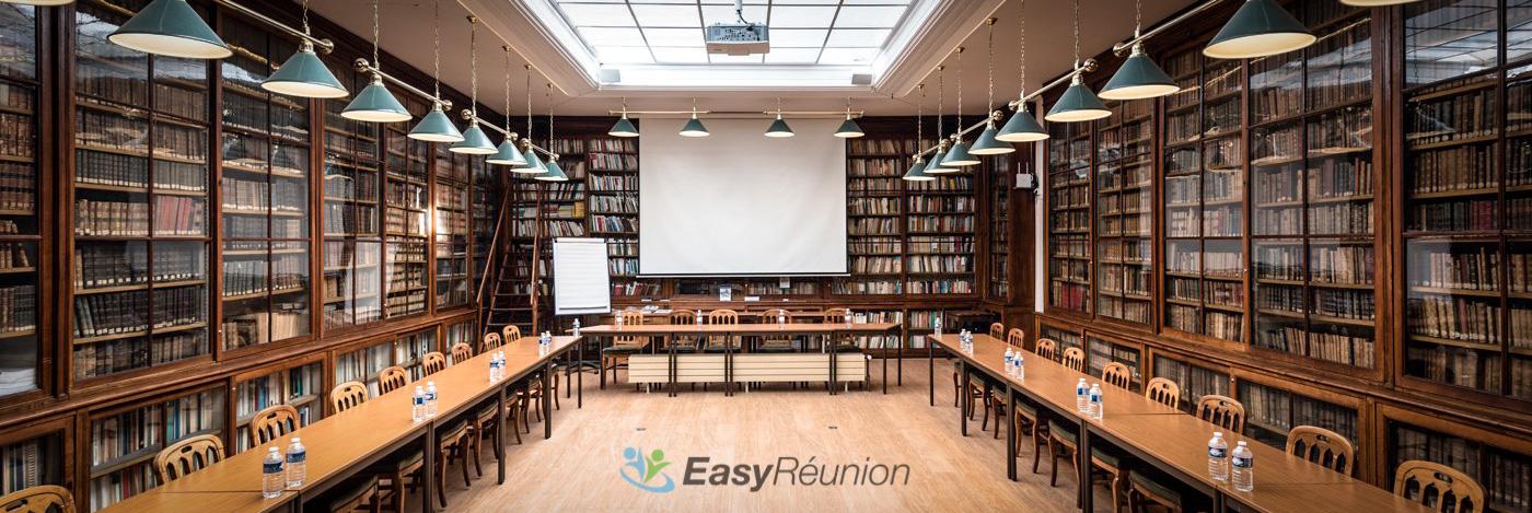 location espace réunion bibliothèque